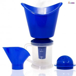 Face, Nose and Cough Steamer 3 in 1 Plastic Steamer Vaporizer, Nozzle Inhaler, Facial Steamer Machine for Adults and Kids.