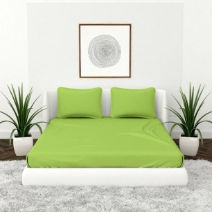 Aloe Vera And Rose Fragrance Single And Double Bedsheet Set.