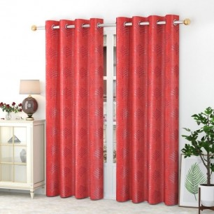 Window And Door Curtains (Pack of 2) With Polyster 200 GSM.