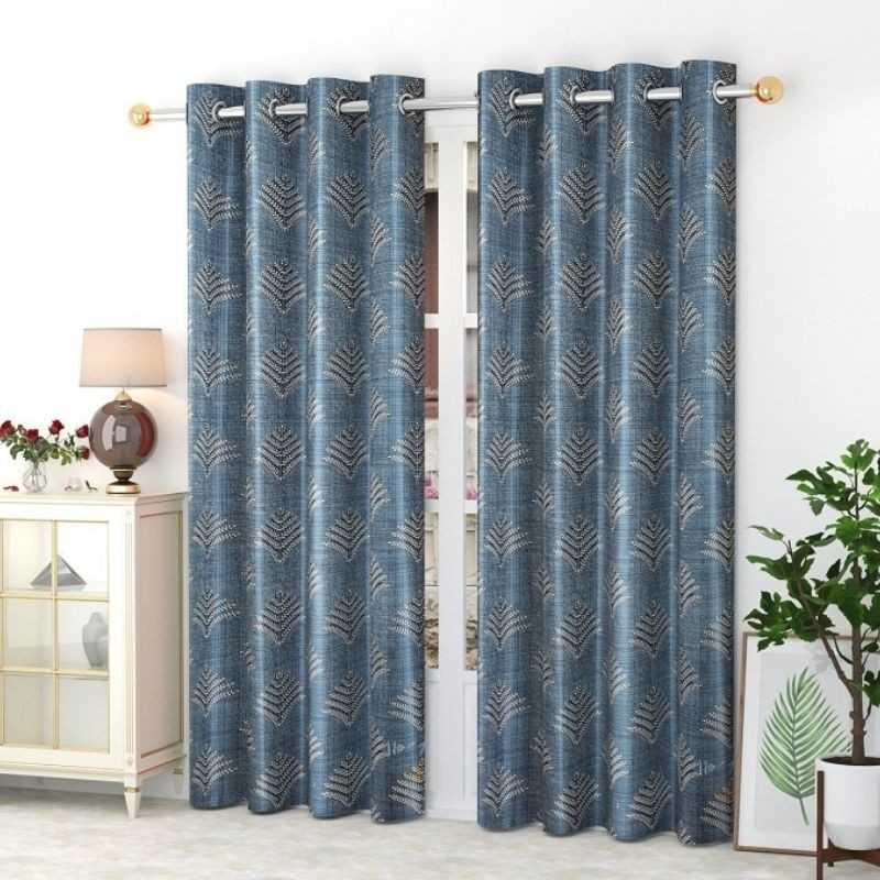 Window And Door Polyster Curtains (Pack of 2).