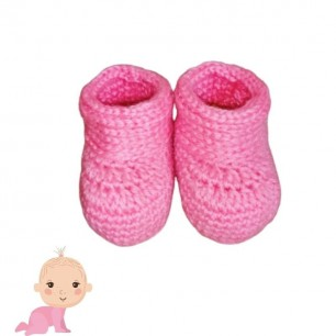 Soft And Warn Baby Booties For 0 To 12 Months.