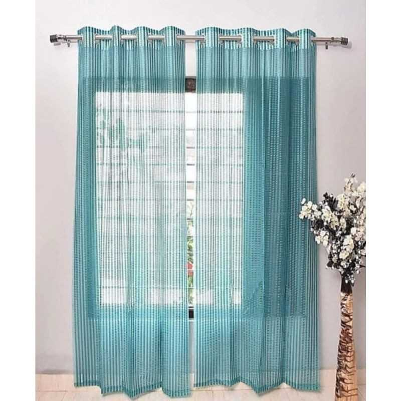 Neptune Tissue Net Eyelets Curtain for Windows and Door.