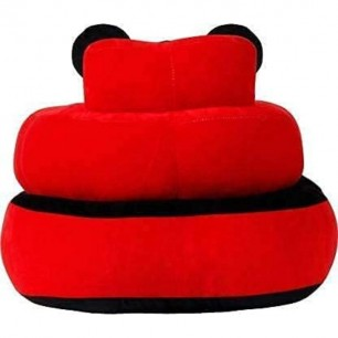 Mickey Mouse Shaped Soft Plush Cushion Supporting Seat for Babies.