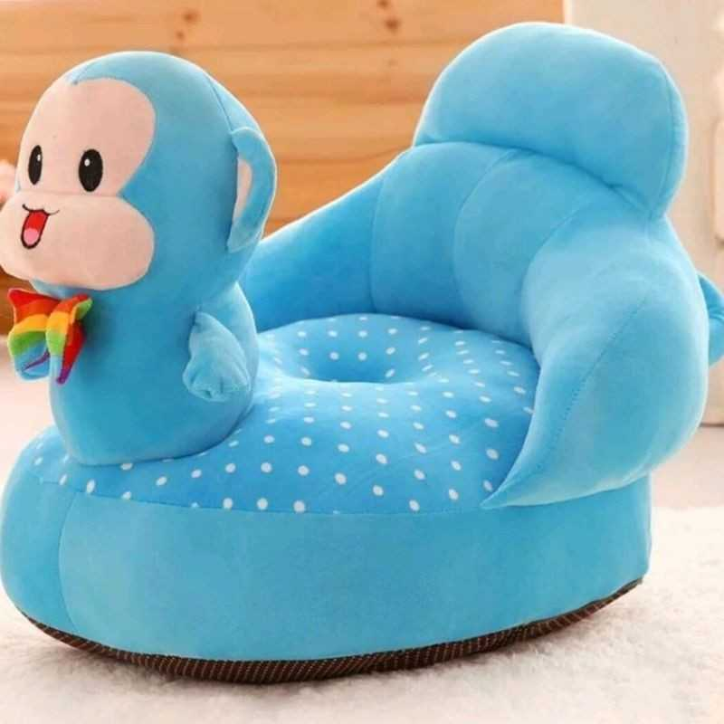 Beautiful Soft Plush Cushion Supporting Seat for Babies.