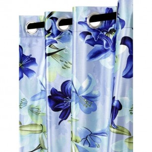 Digital Knitting Polyester Curtains for Windows and Door.