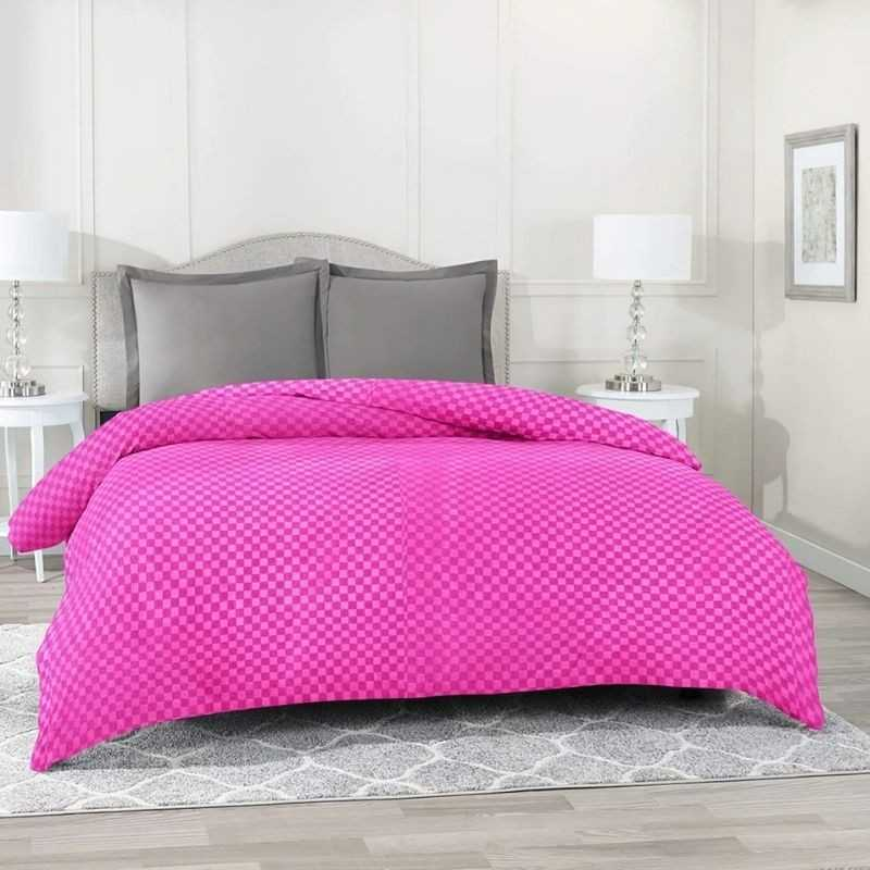 Double Bed Reversible Dohar Cover, Duvet Cover And Razai Cover.
