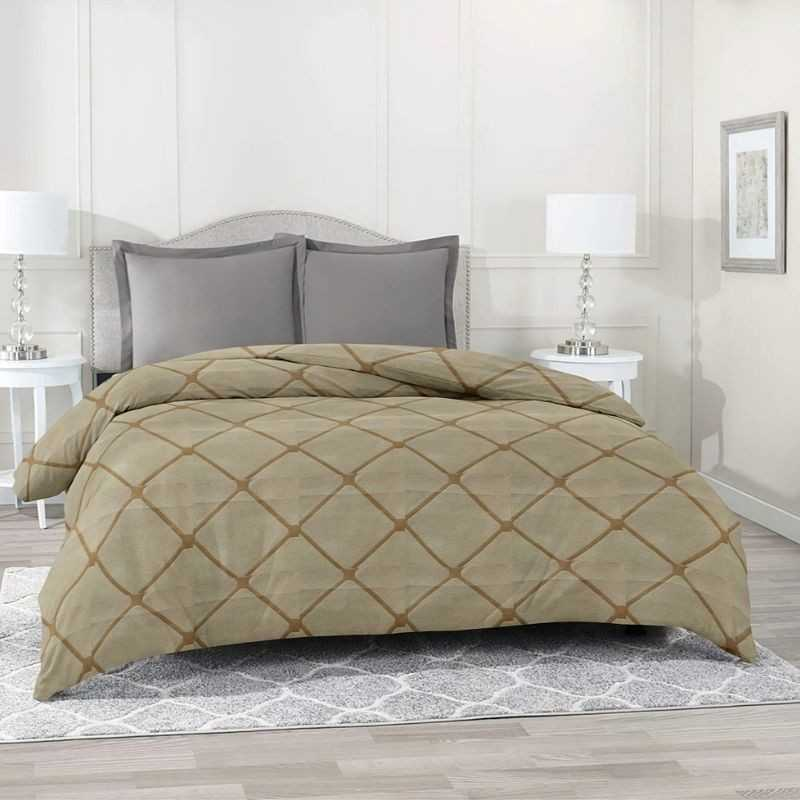 Reversible Double Bed Dohar Cover, Duvet Cover And Razai Cover.