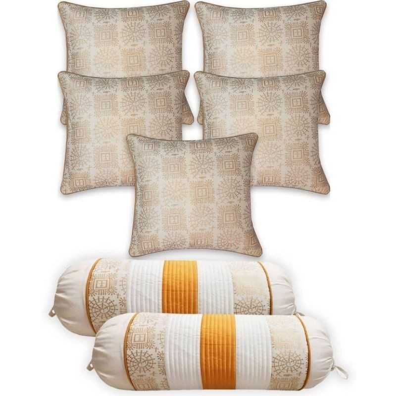 Multi Coloured Cushion Covers and White Cushion Covers