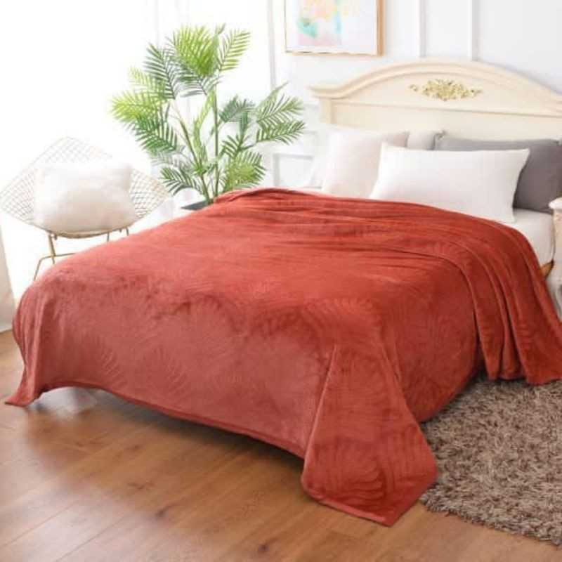 AC super soft blanket with Solid shades by gloria
