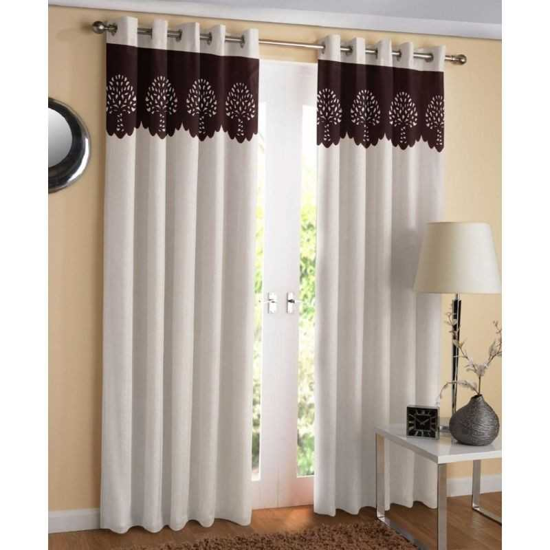 Attractive Window And Door Curtains Pack Of 2 Curtains.