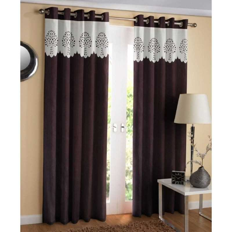 100% Polyester window or door curtain for home.